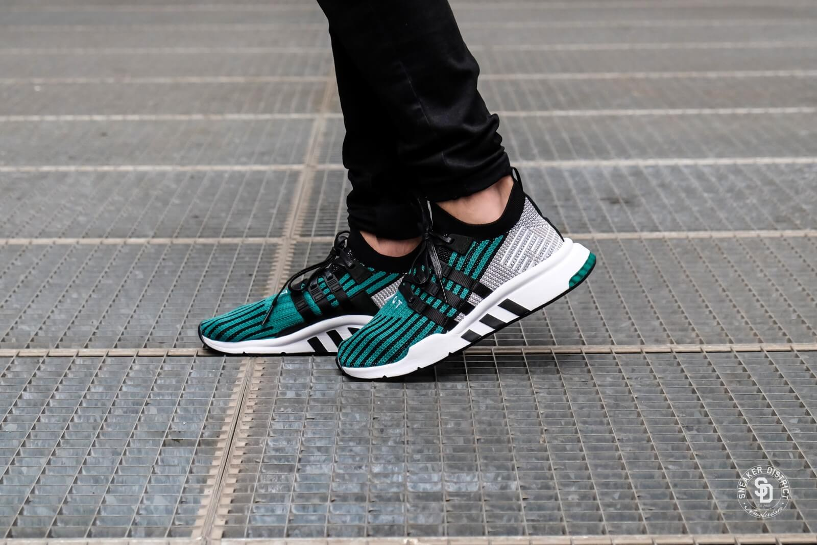 sports shoes 68dec a8542 ... best adidas eqt support mid adv primeknit sub green core black 32632  54c6d
