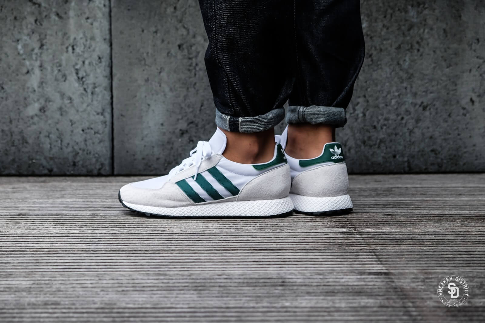 Adidas Forest Grove Crystal White/Core