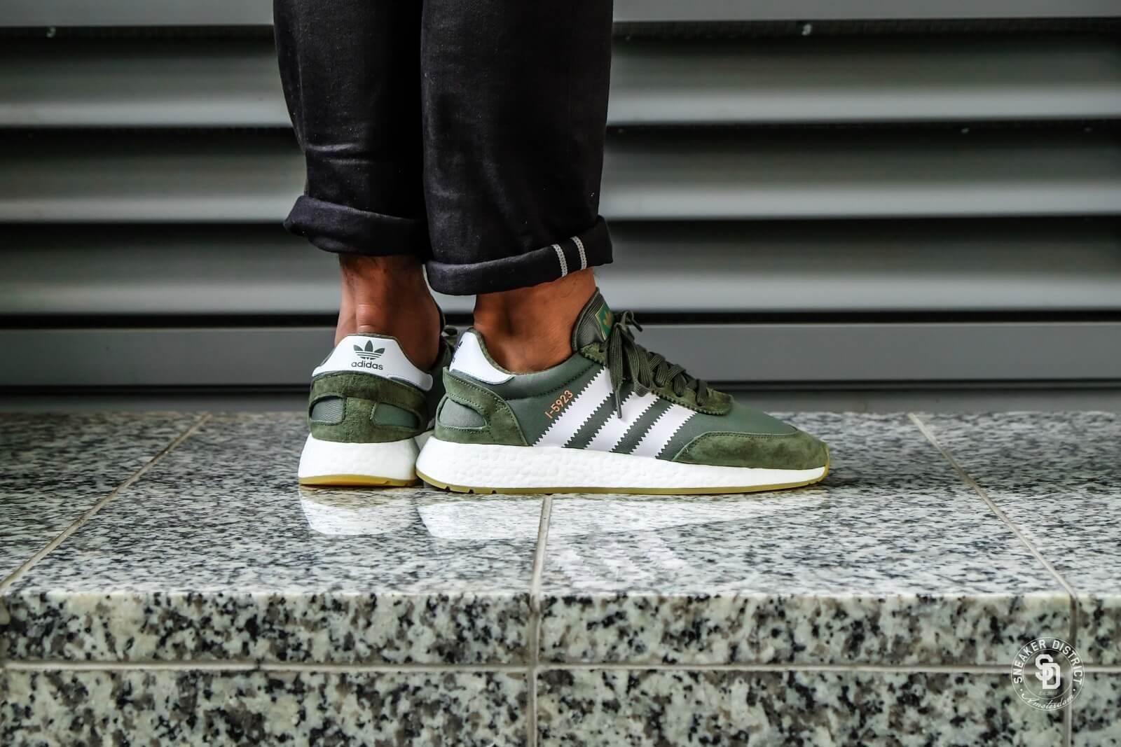 Adidas I-5923 Base Green/Footwear White-Gum