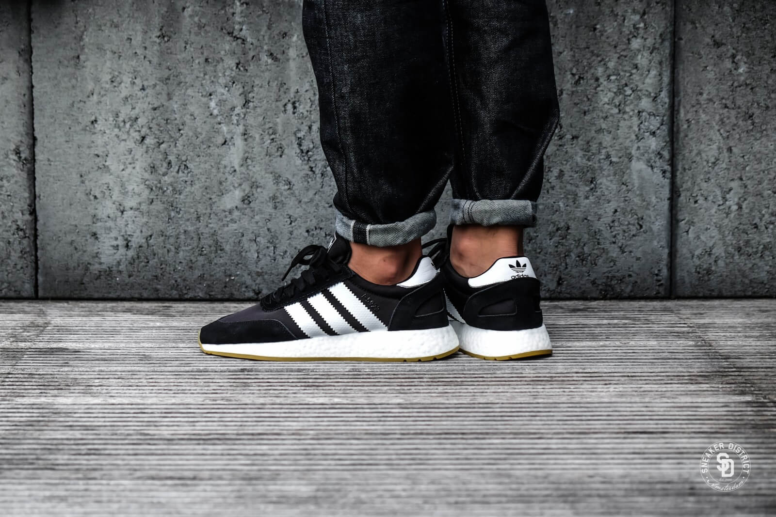 Adidas I-5923 Black/White/Gum