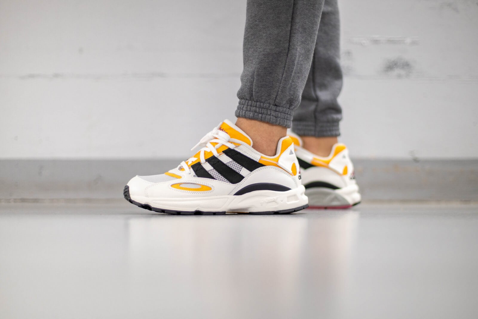 Adidas LXCON 94 Cloud White/Real Gold