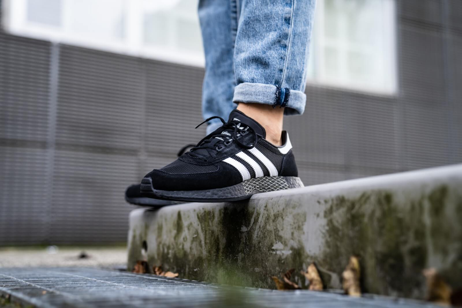 adidas Marathon Tech Schoenen zwart | adidas Belgium