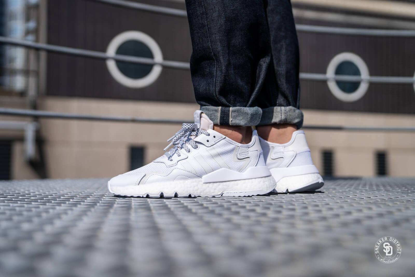 Adidas Nite Jogger Cloud White/Crystal White - BD7676