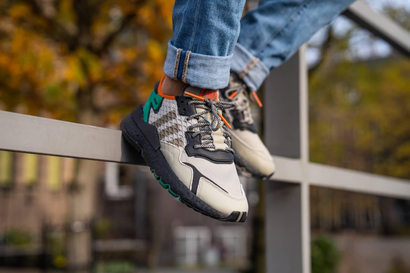 adidas Nite Jogger Shoes White | adidas US