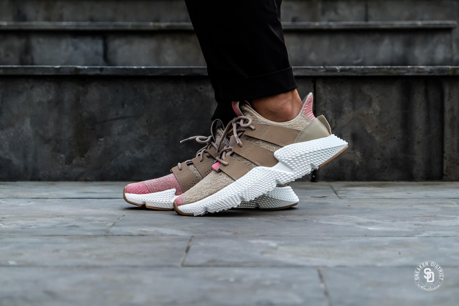 proteger ganso bosquejo  Adidas Prophere Trace Khaki/Chalk Pink - CQ2128