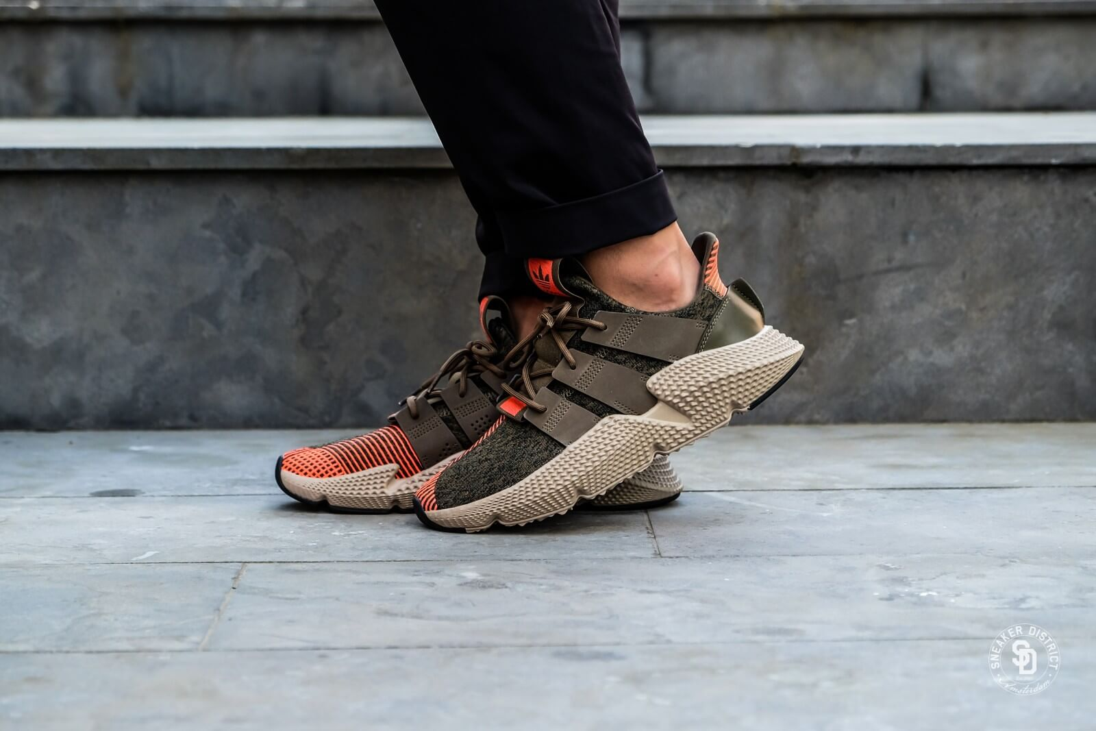 Adidas Prophere Trace Olive/Solar Red