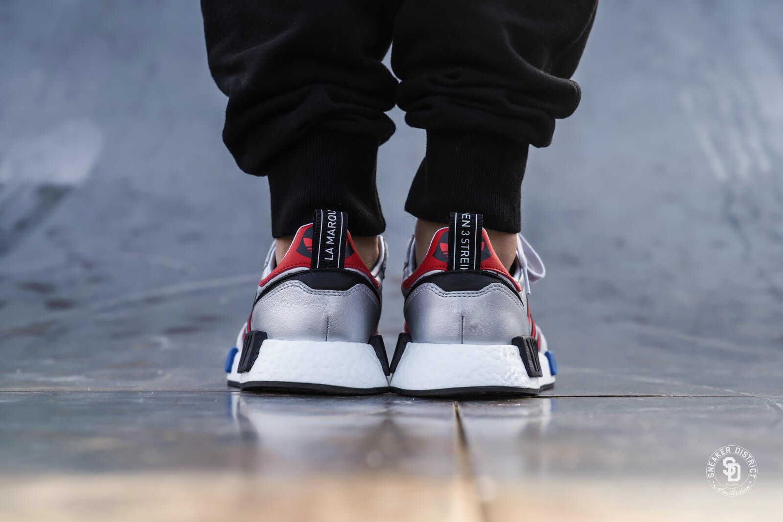 Adidas Rising Star x R1 Silver Metallic