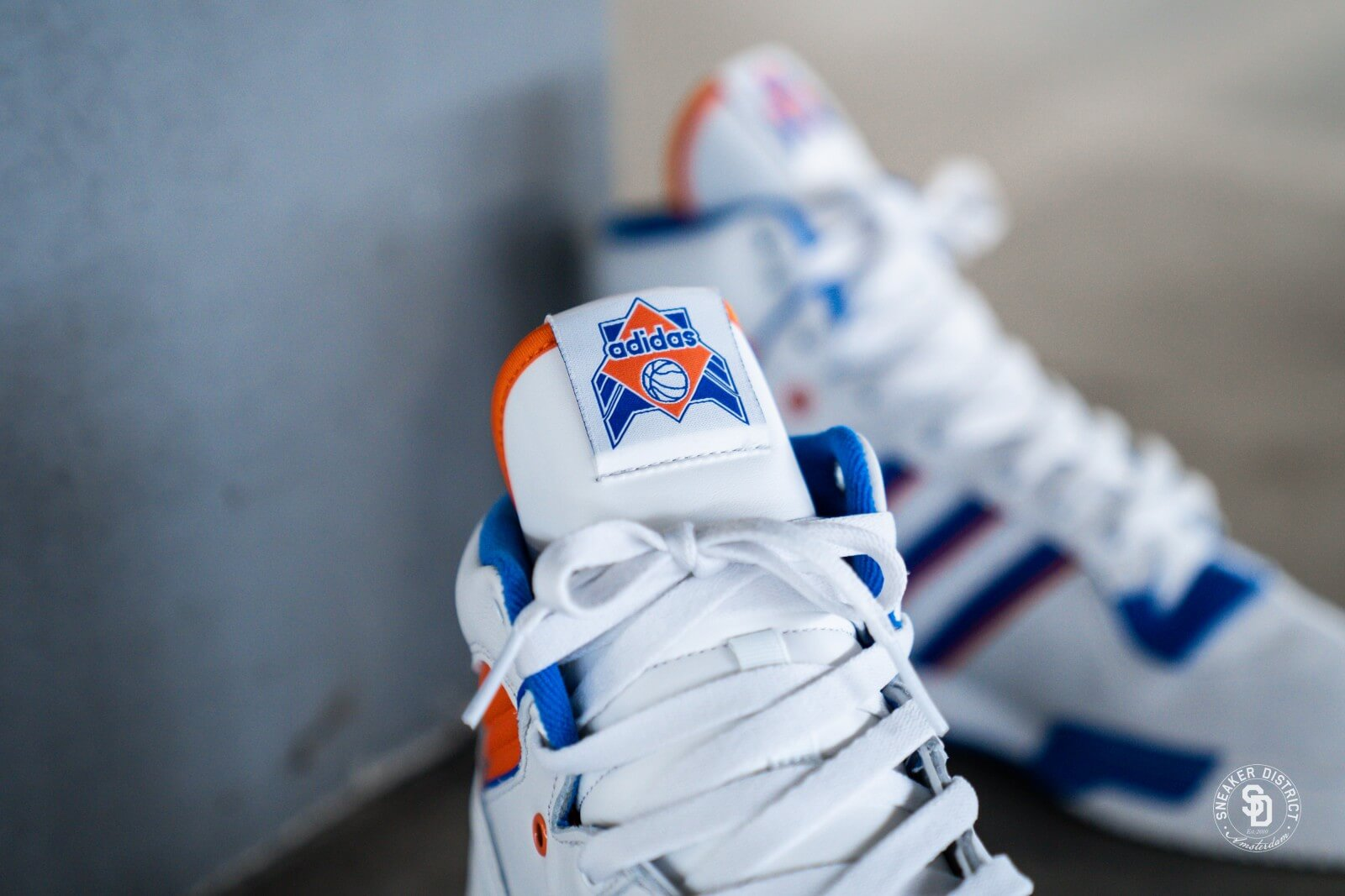 Adidas Rivalry Crystal White/Blue