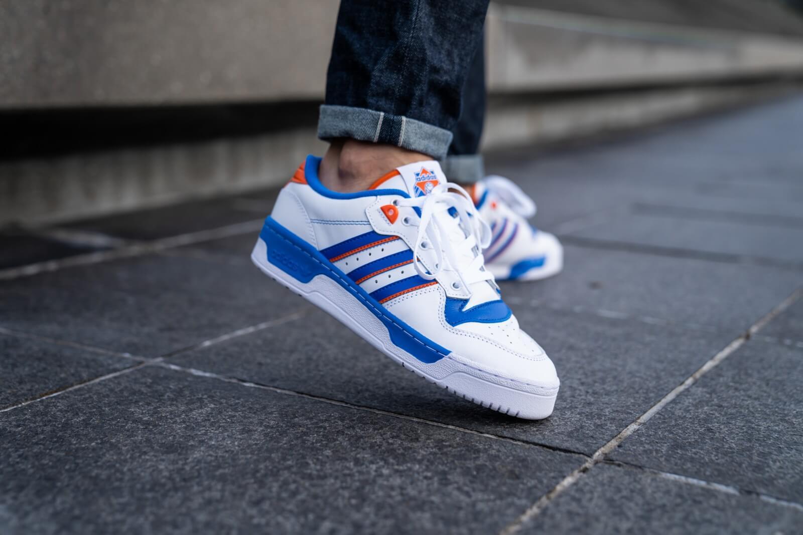 Adidas Rivalry Low Footwear White/Blue