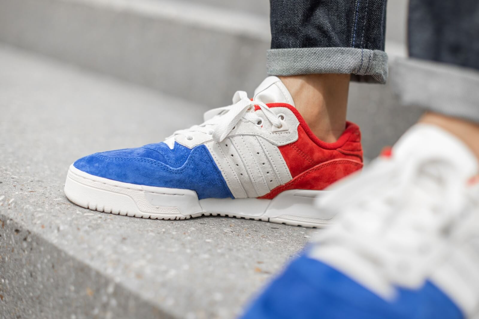 Adidas Rivalry Low Royal Blue/White