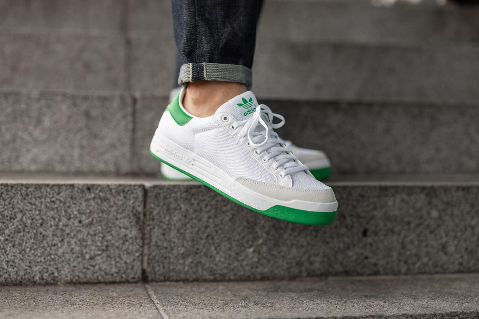 Adidas Rod Laver Cloud White/Green - G99863