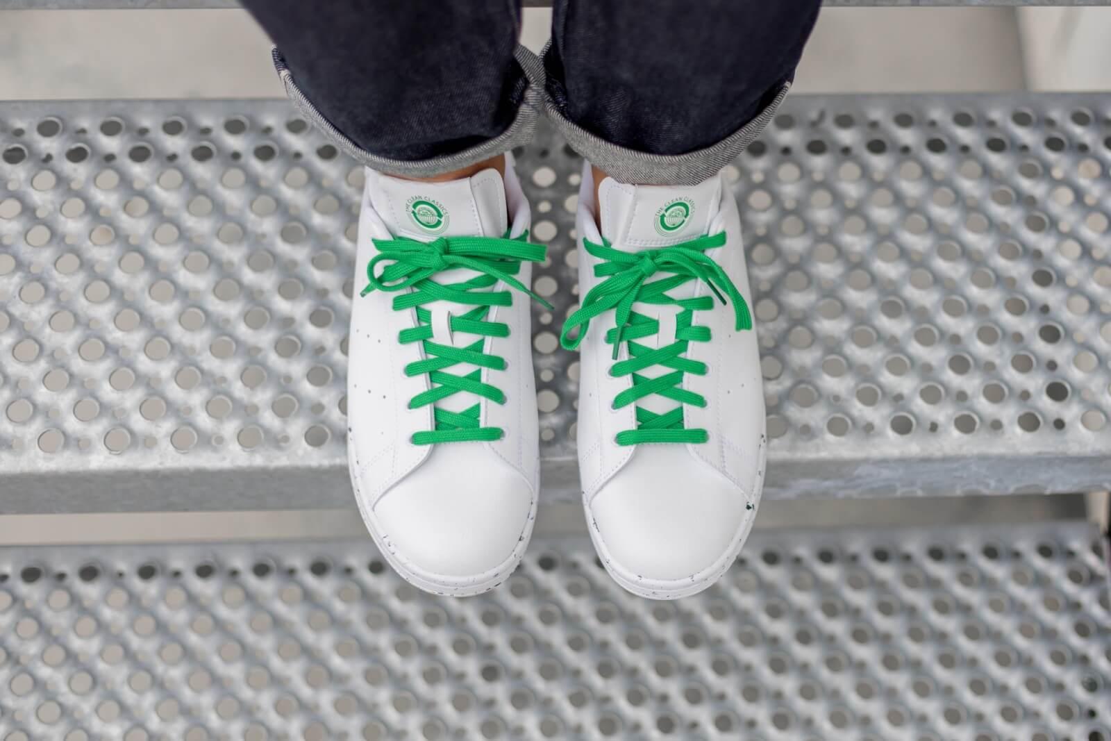 Adidas Stan Smith Clean Classics Cloud White/Green