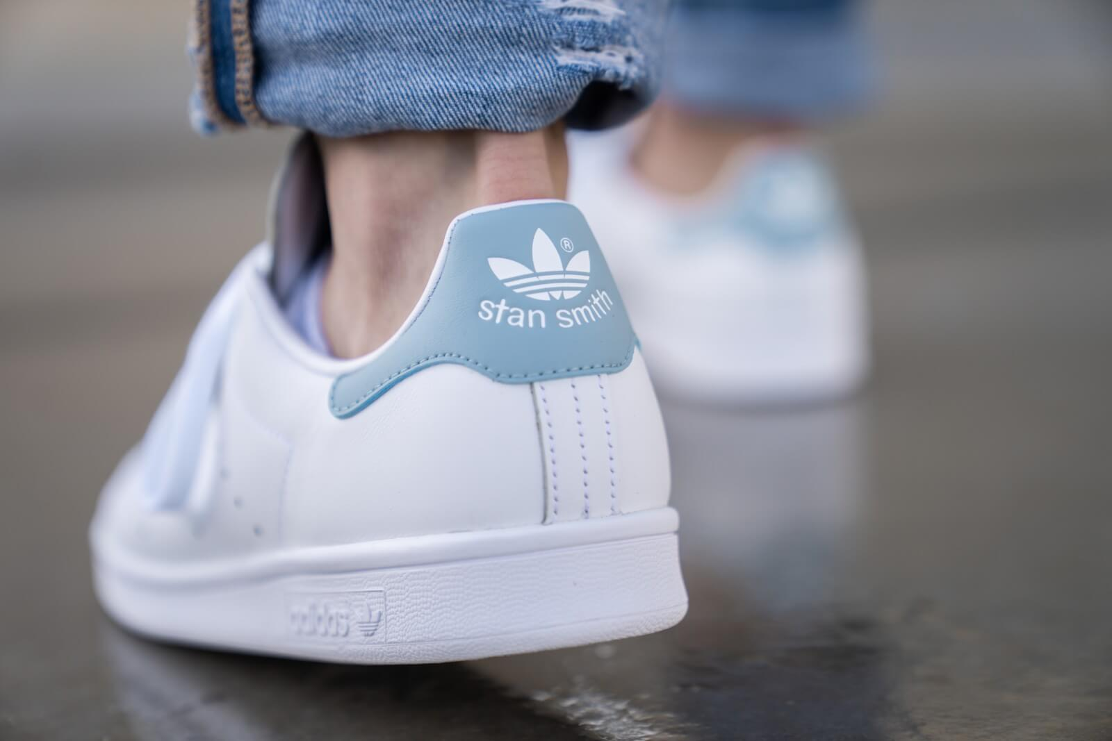 Stan Smith Cloud White and Crystal White Shoes | adidas US