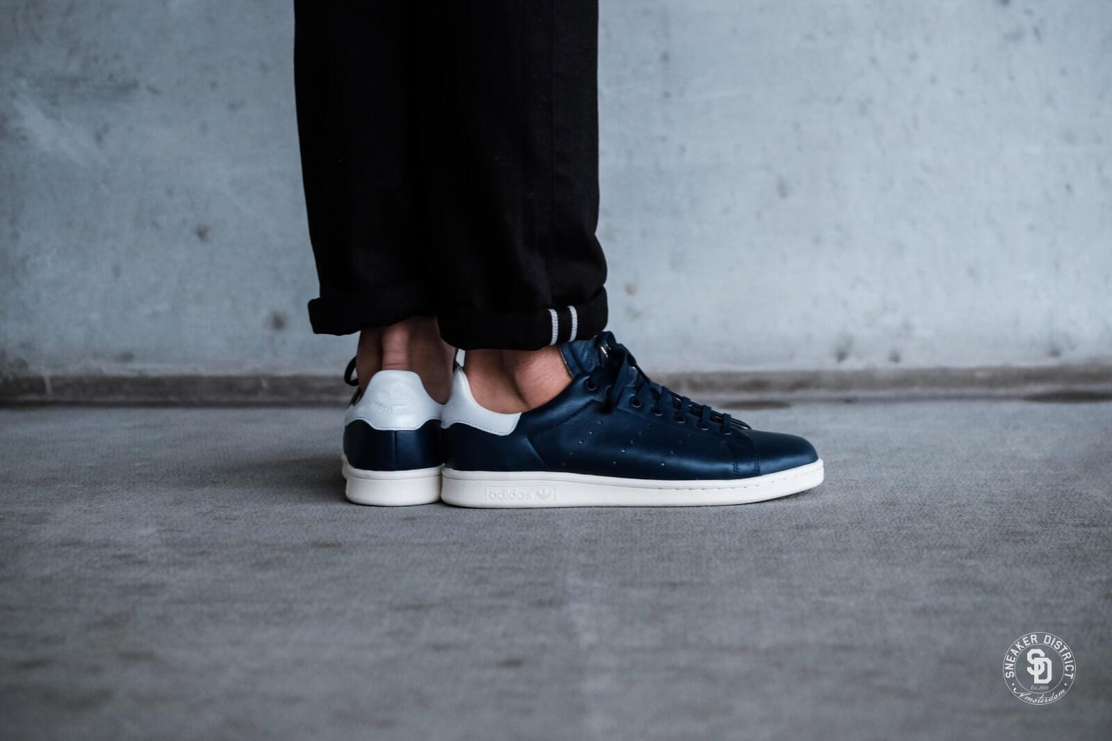 adidas stan smith heren navy