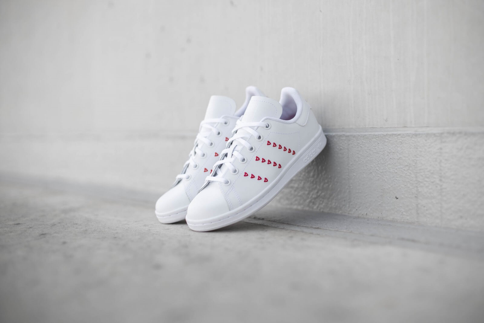 Adidas Stan Smith Youth Cloud White