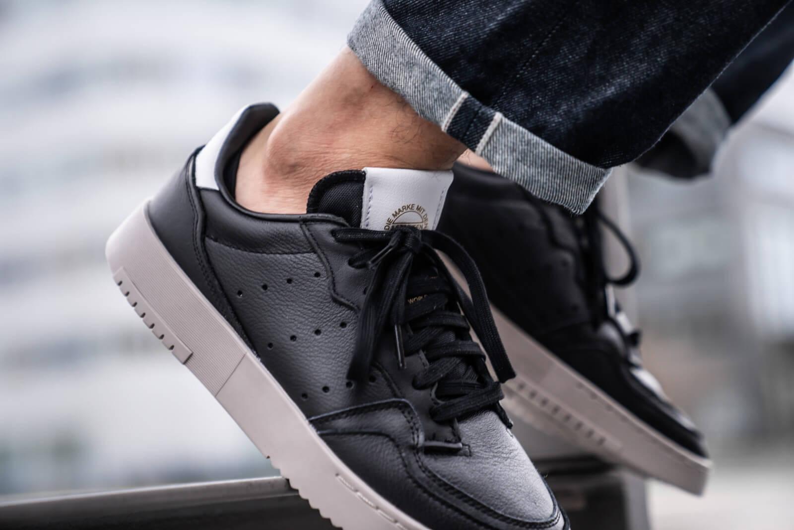 Adidas Supercourt Core Black/Core Black-Footwear White