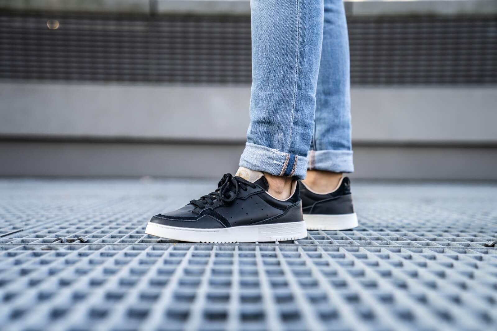 Adidas Supercourt Core Black/Crystal White