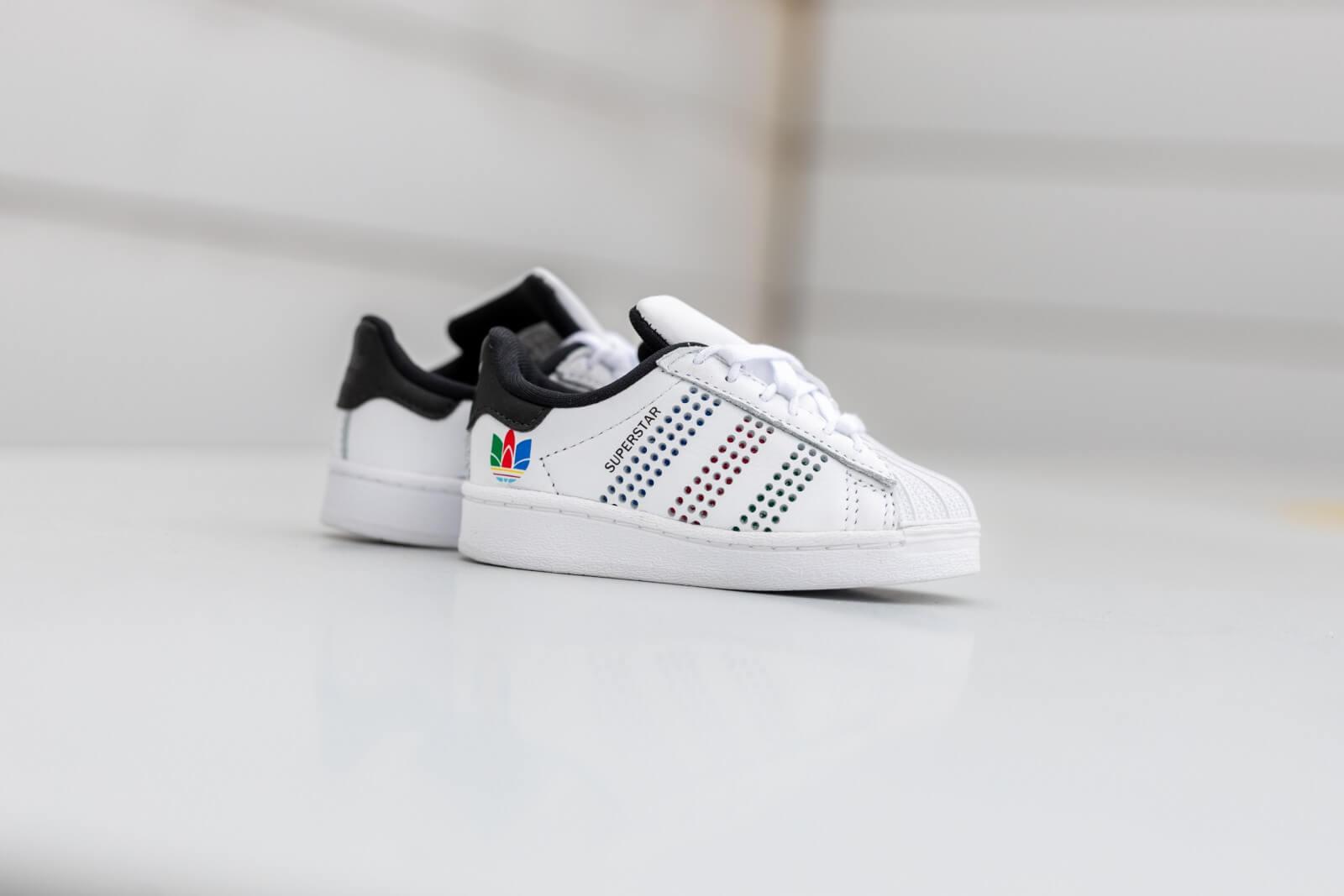 Infant Footwear White/Green-Core Black
