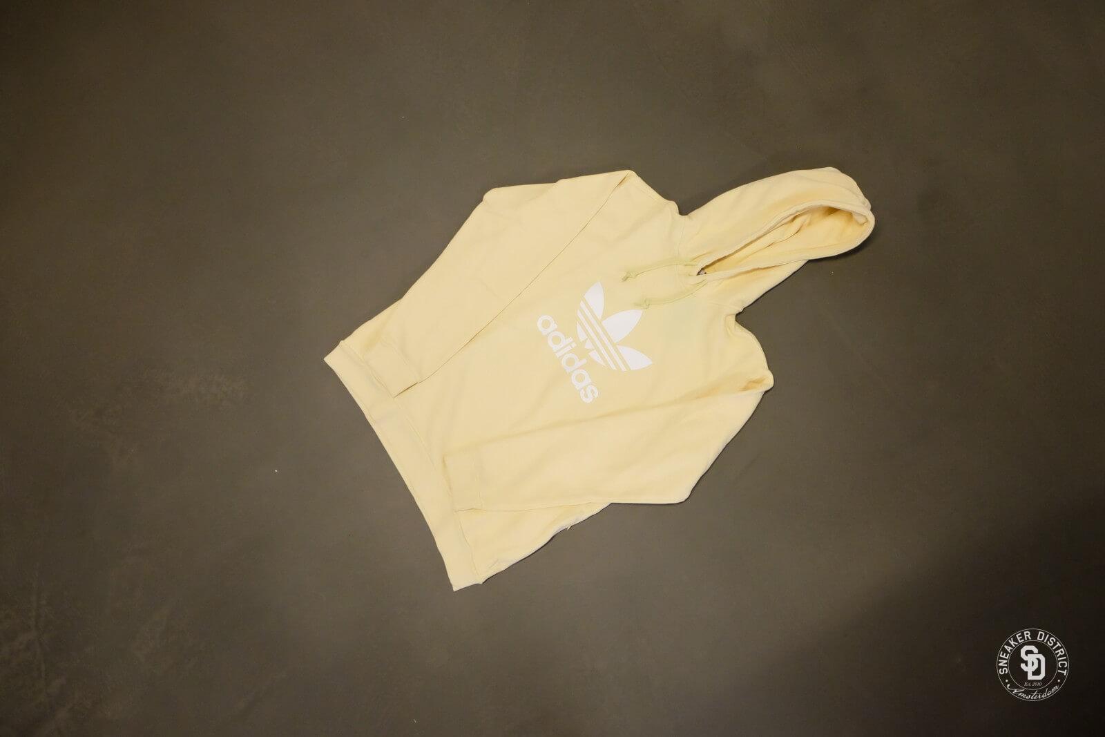 Adidas Trefoil Warm Up Hoodie Mist Sun CW1243