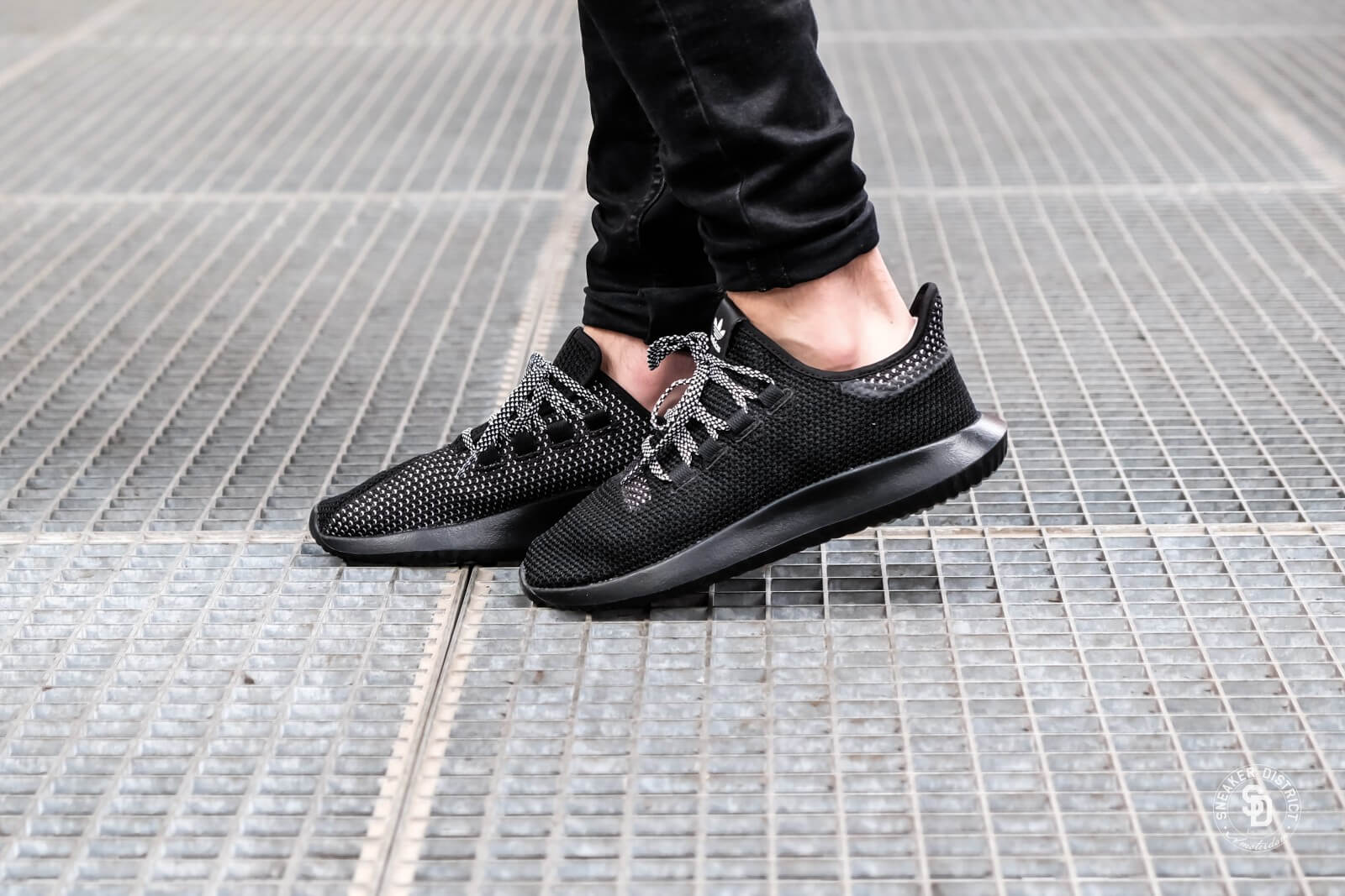 adidas tubular shadow zwart heren