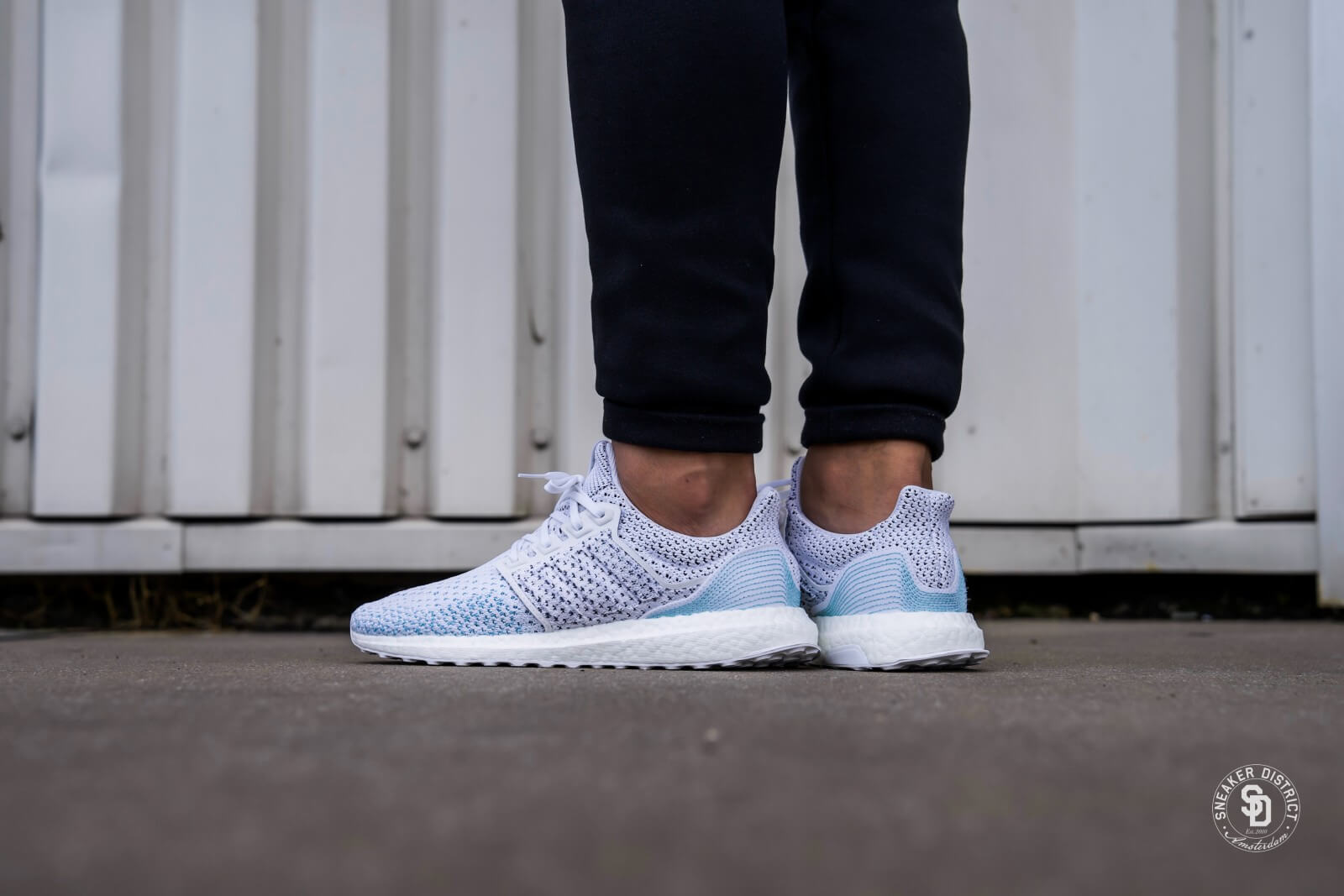 Adidas Ultraboost Parley Ltd Footwear White Blue Spirit Bb7076