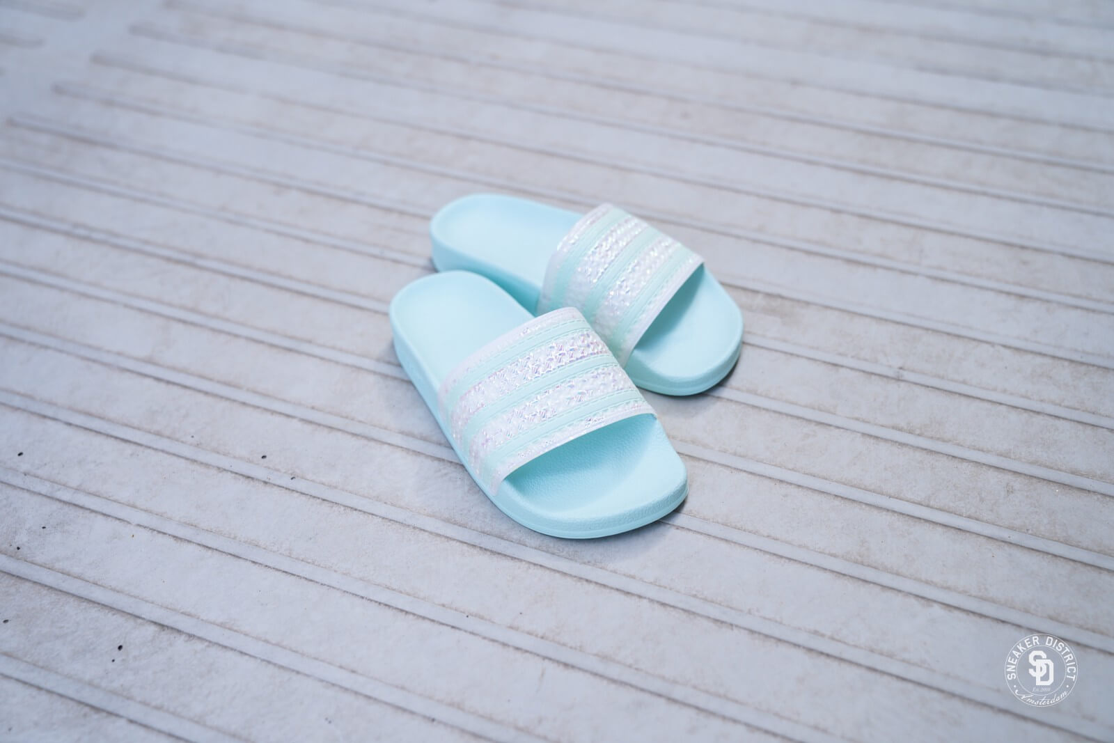 Adidas Women's Adilette Ice Mint