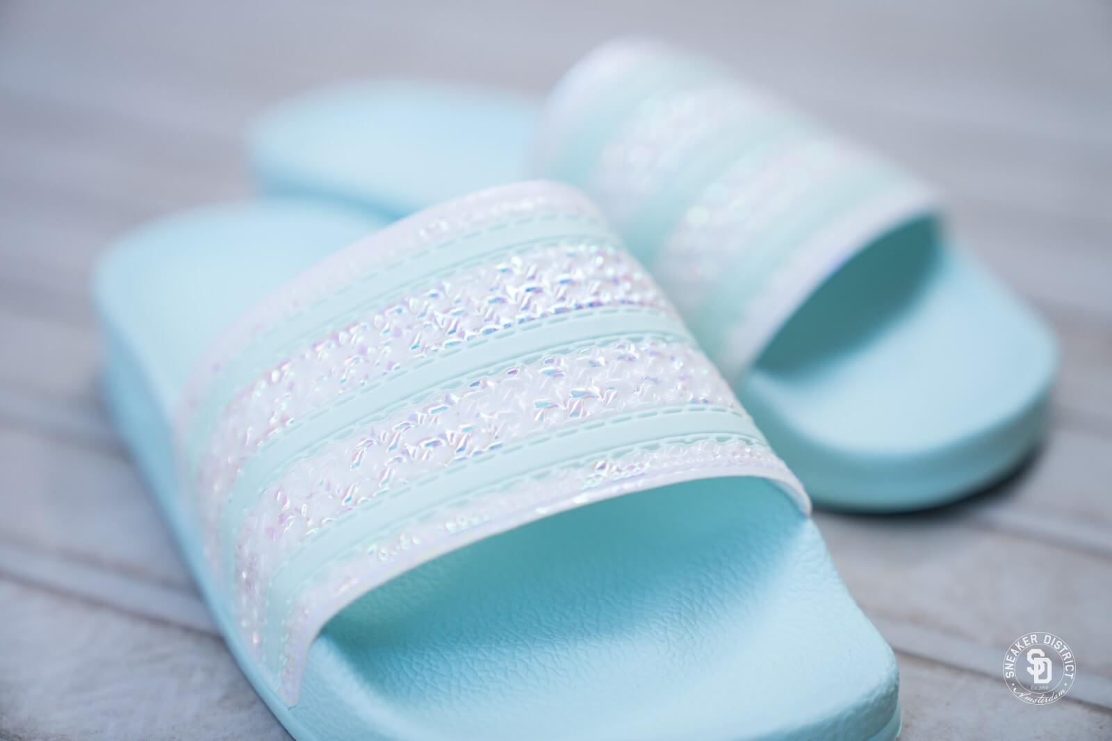 Adidas Women's Adilette Ice Mint - CG6257