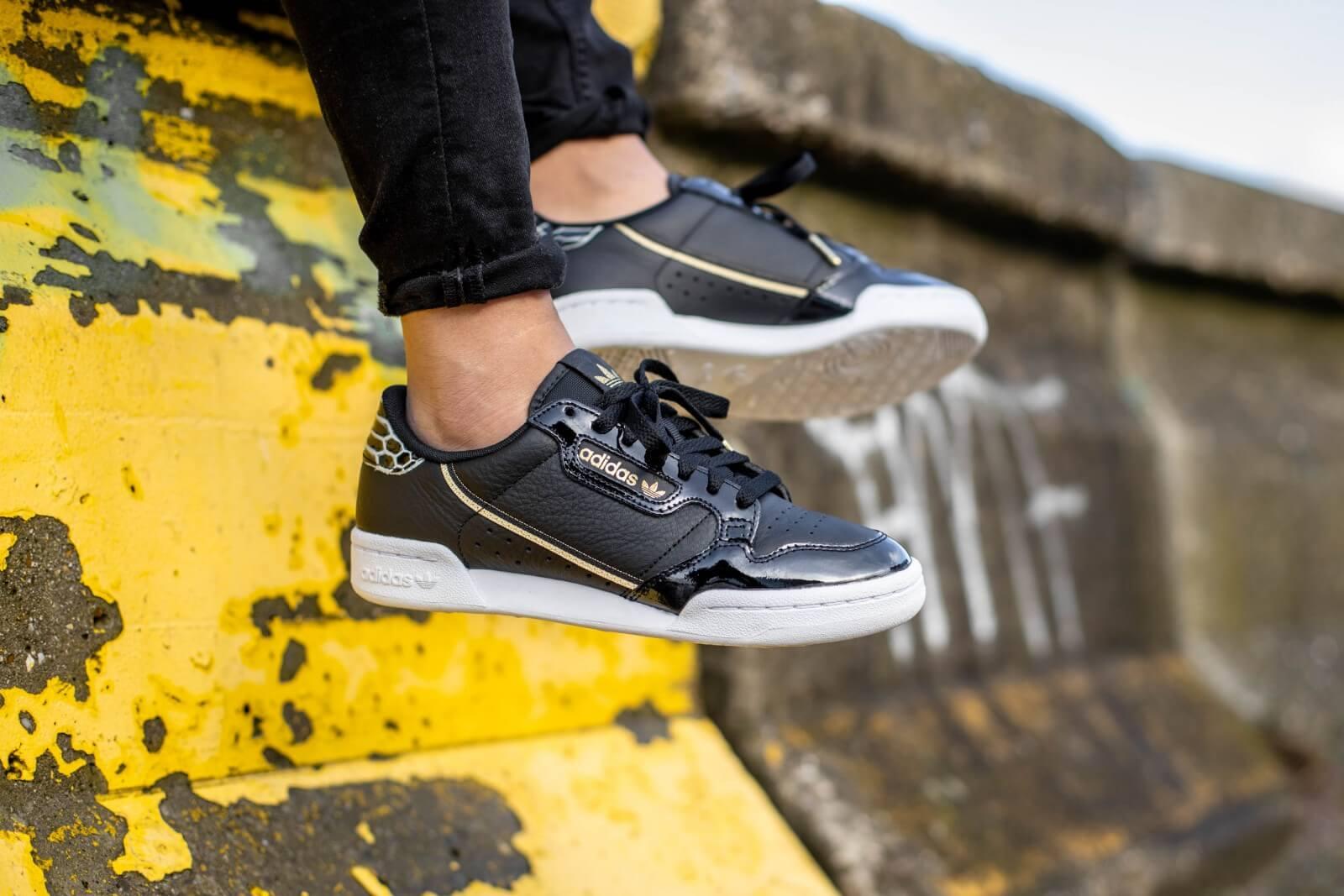 Adidas Women's Continental 80 Core Black/Footwear White