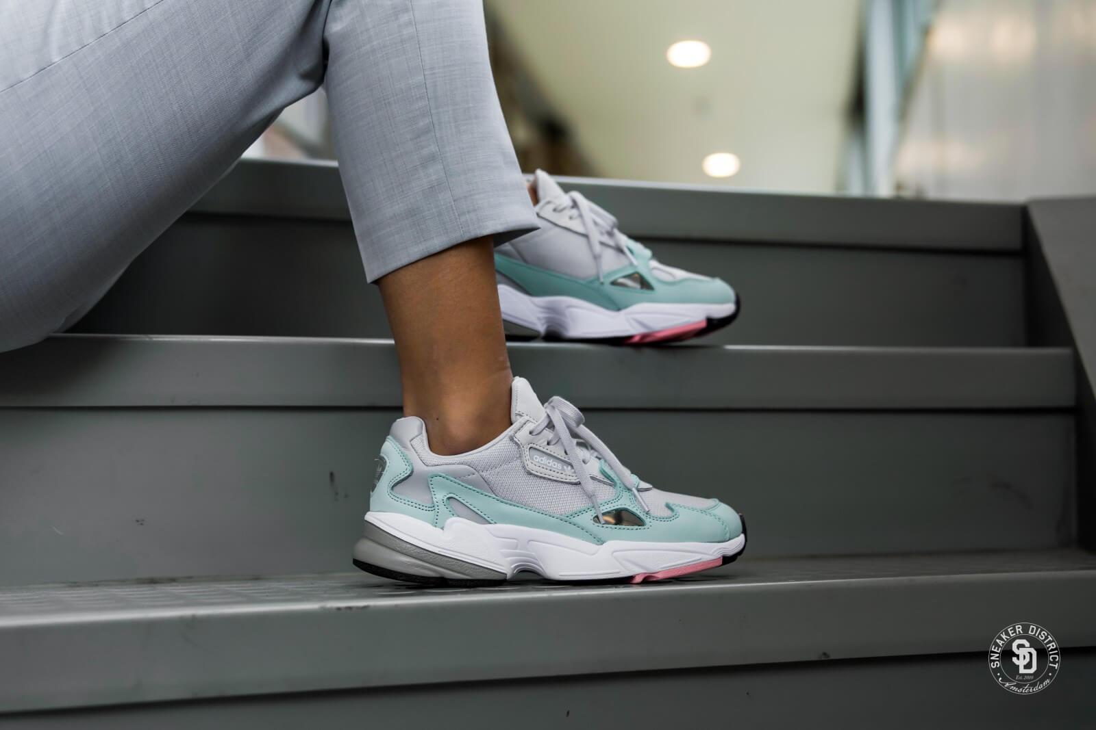 Adidas Women's Falcon Grey/Ease Green