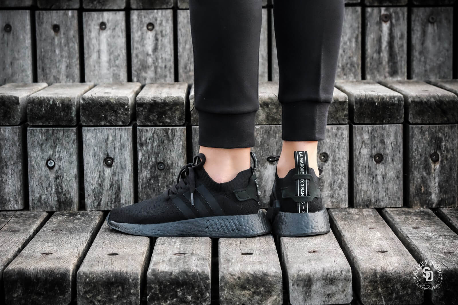 Adidas Women's NMD R2 Primeknit Core Black