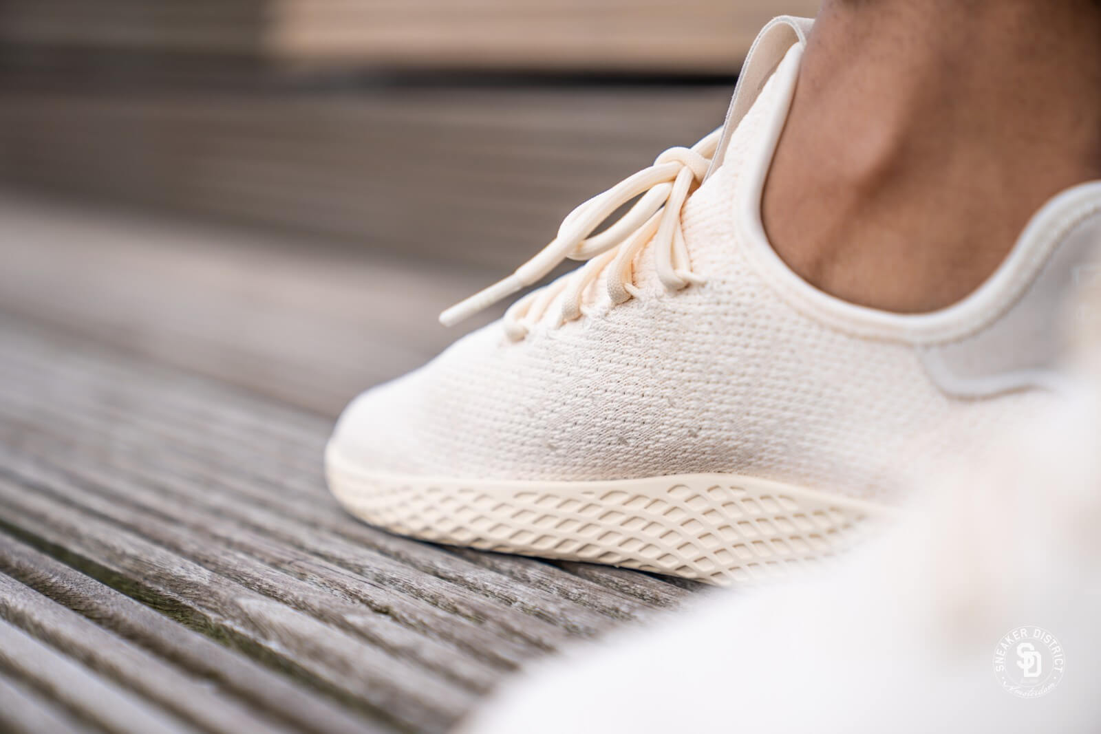 Adidas Women's PW Tennis HU Beige/Cloud White