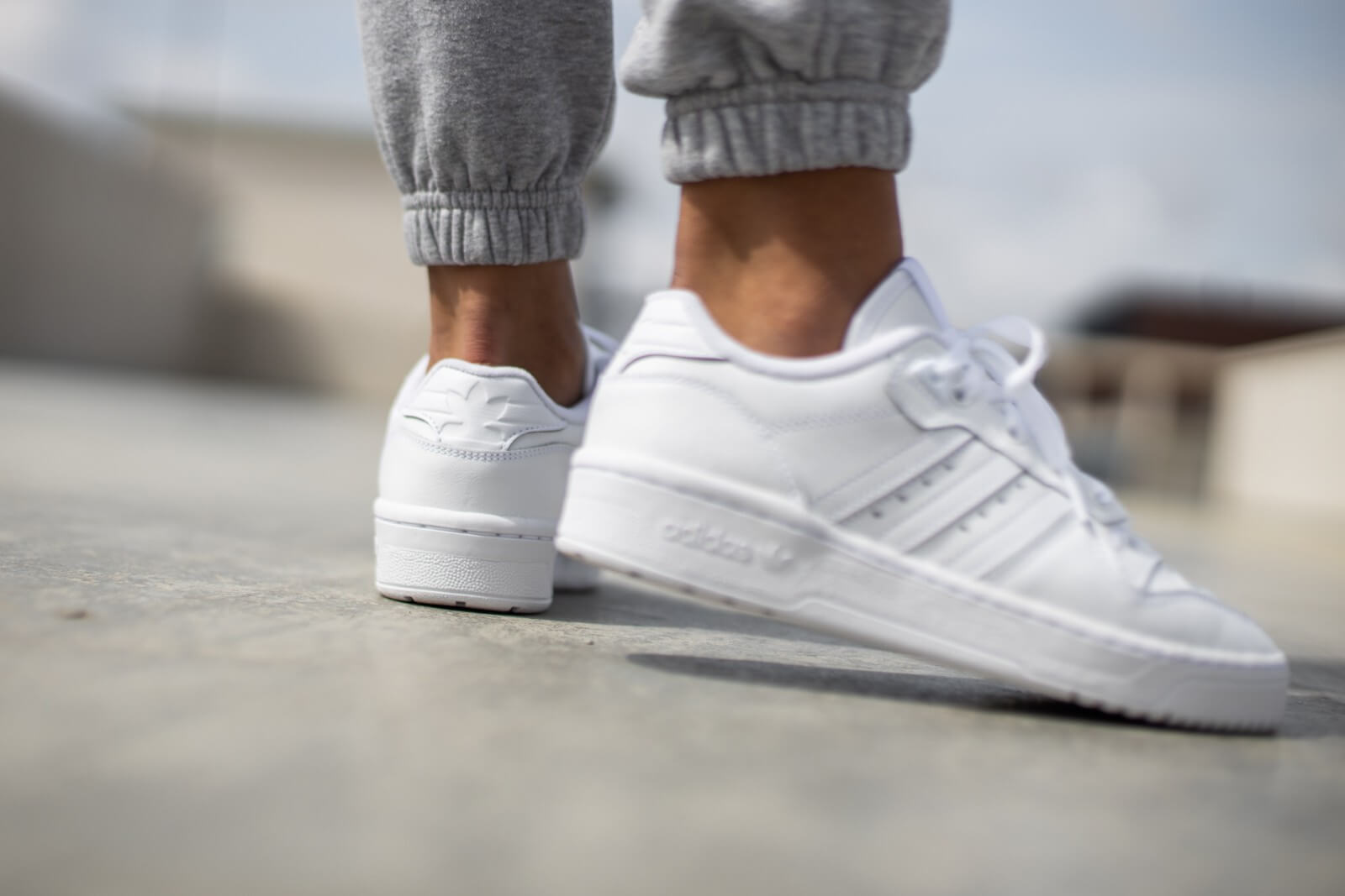 Adidas Women's Rivalry Low Cloud White