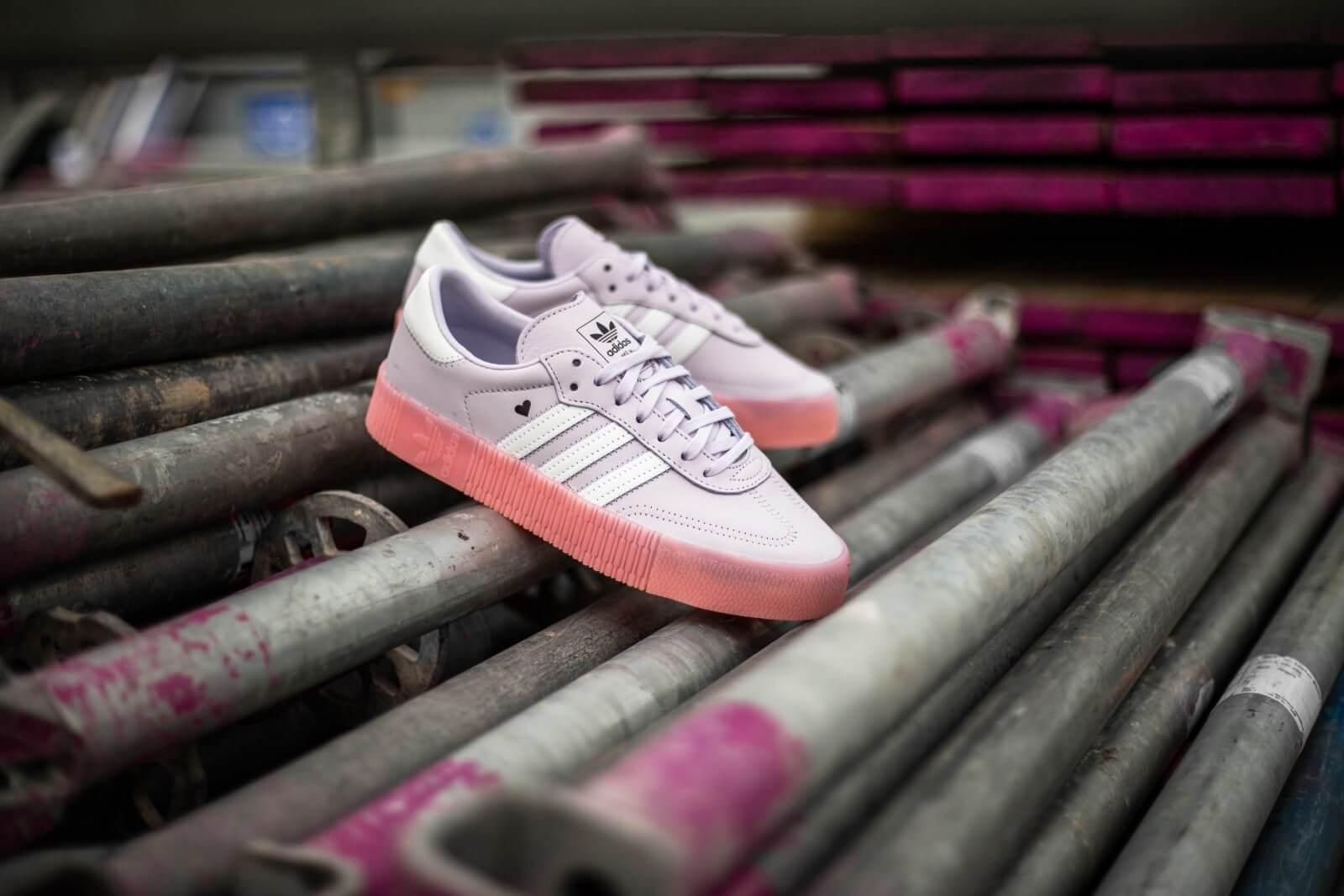 Adidas Women's Sambarose Purple Tint/Glory Pink