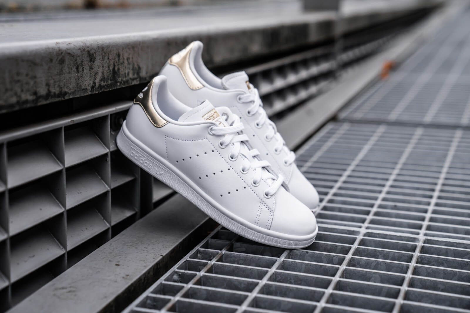 adidas stan smith dames brons