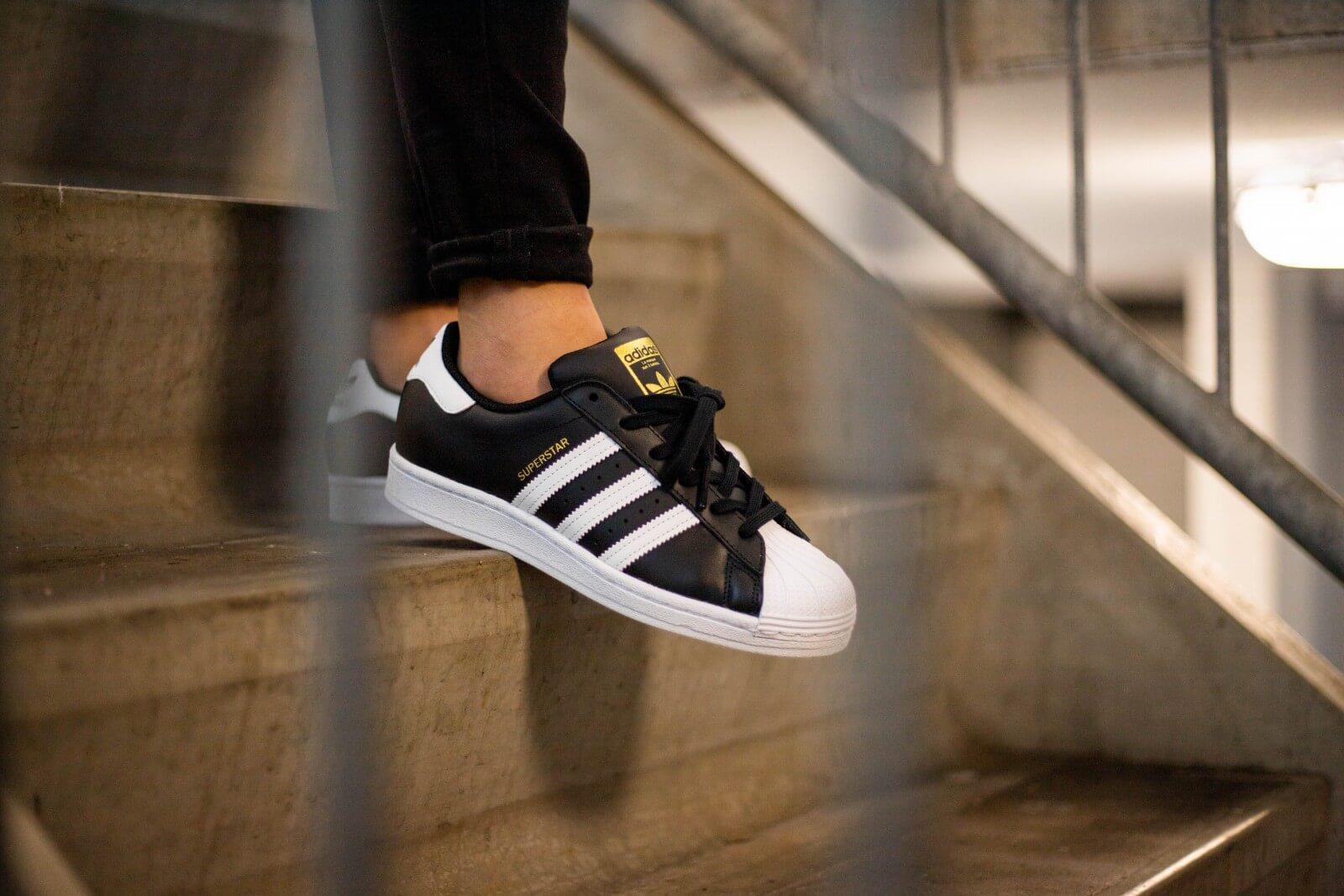 Adidas Women's Superstar Core Black/ Footwear White