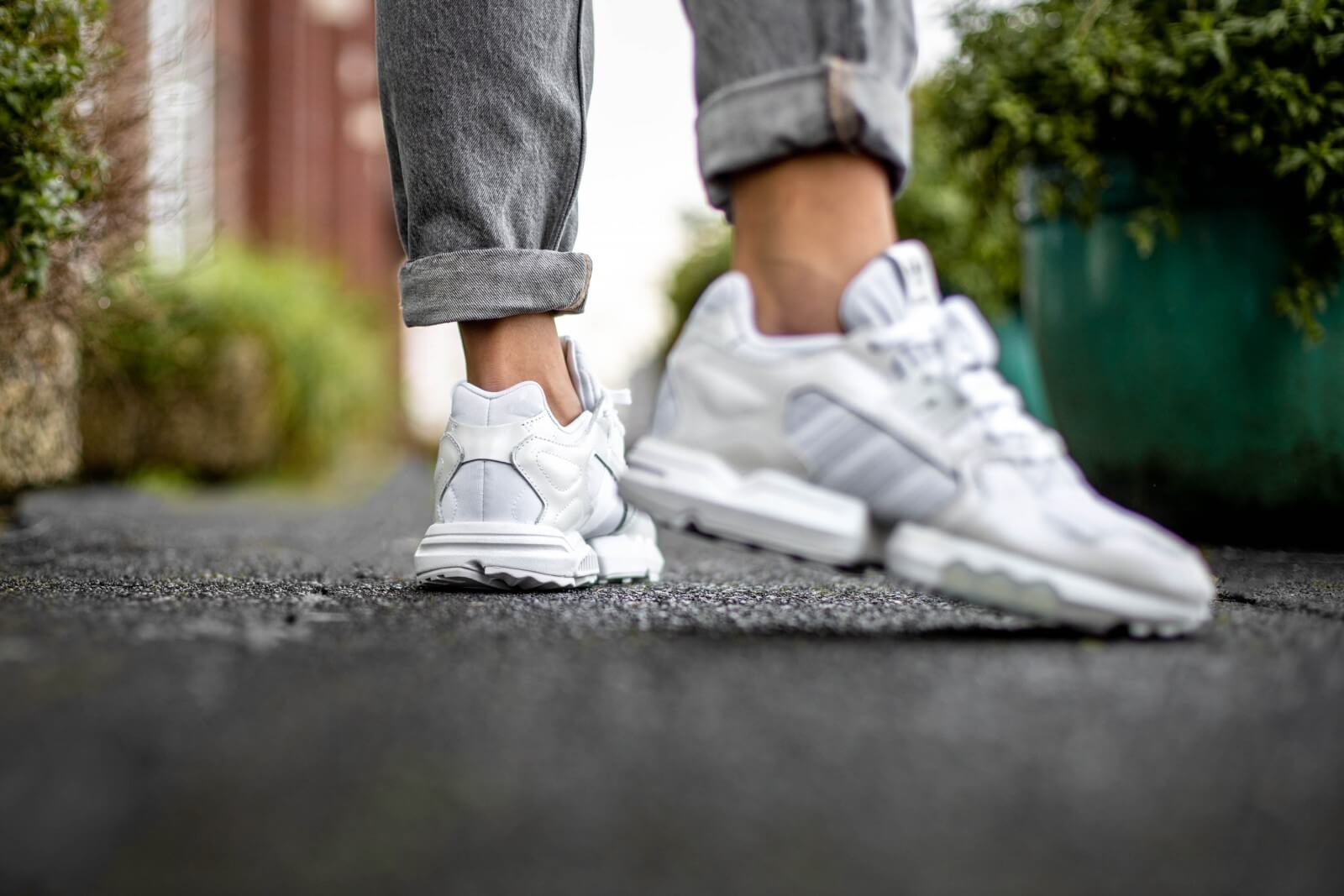 Adidas Women's ZX Torsion Footwear White/Grey Two