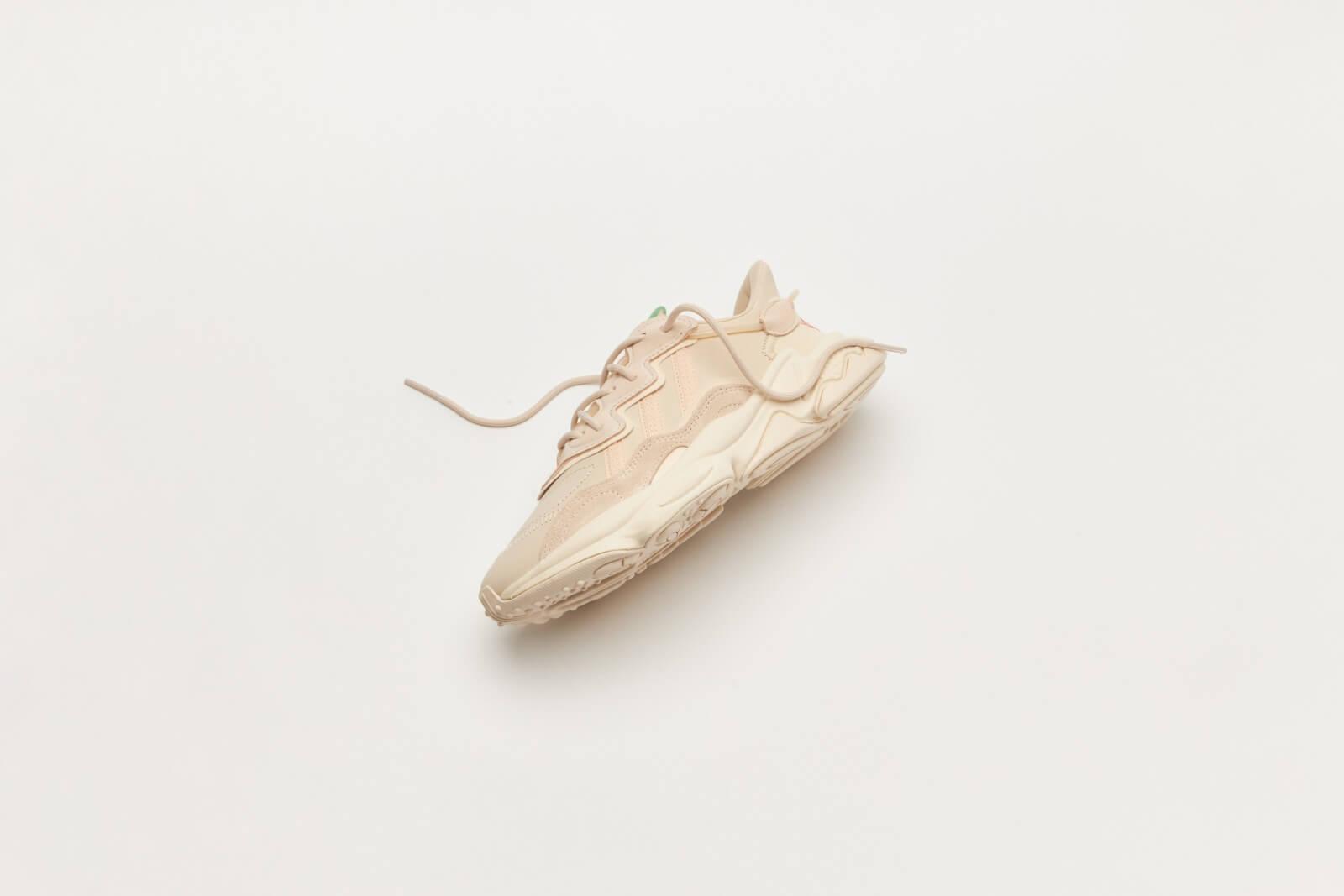 Adidas Women's Ozweego Halo Ivory/Linen-Chalk White