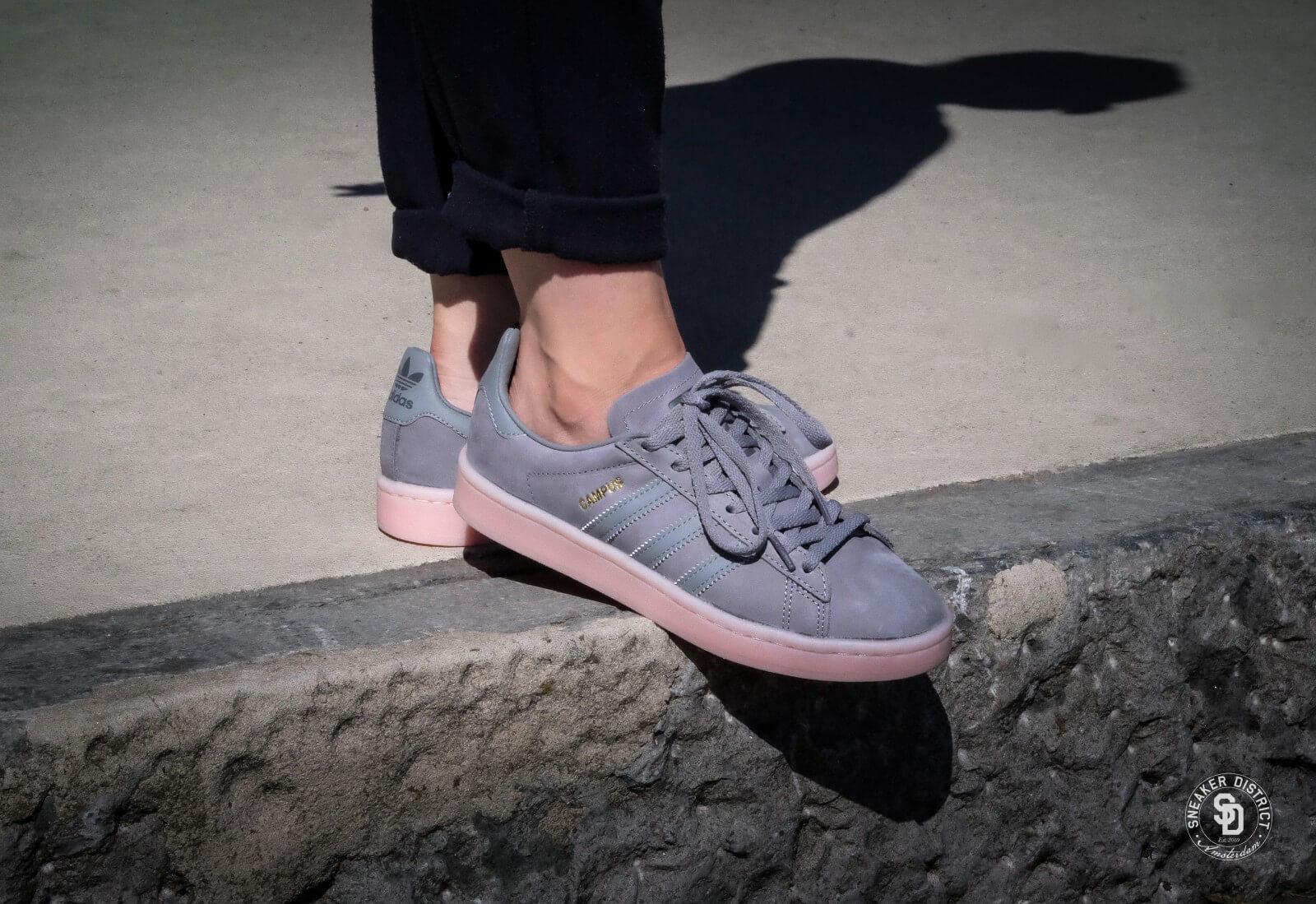 Adidas Campus W - Grey Three/Icey Pink