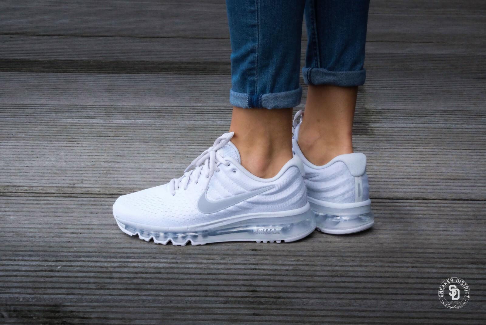 Nike Wmns Air Max 2017 Pure Platinum Wolf Grey White Off White 849560 009
