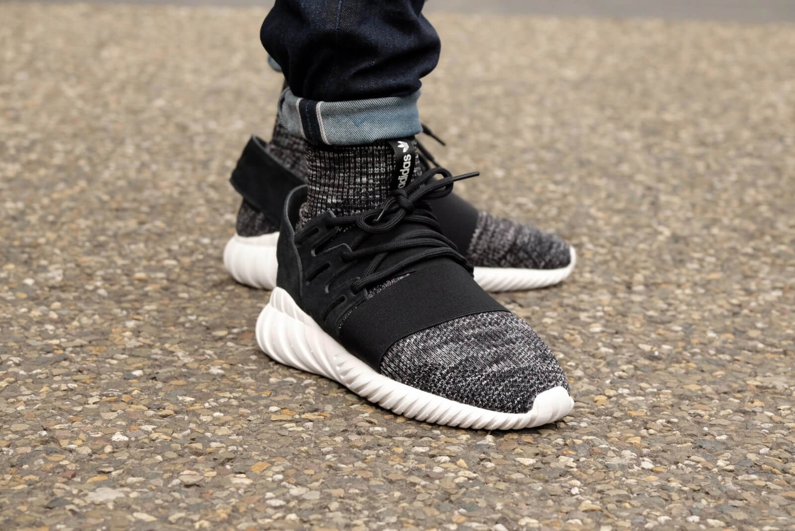 Adidas Tubular Doom PK Glow in The Dark Core Black/Granit