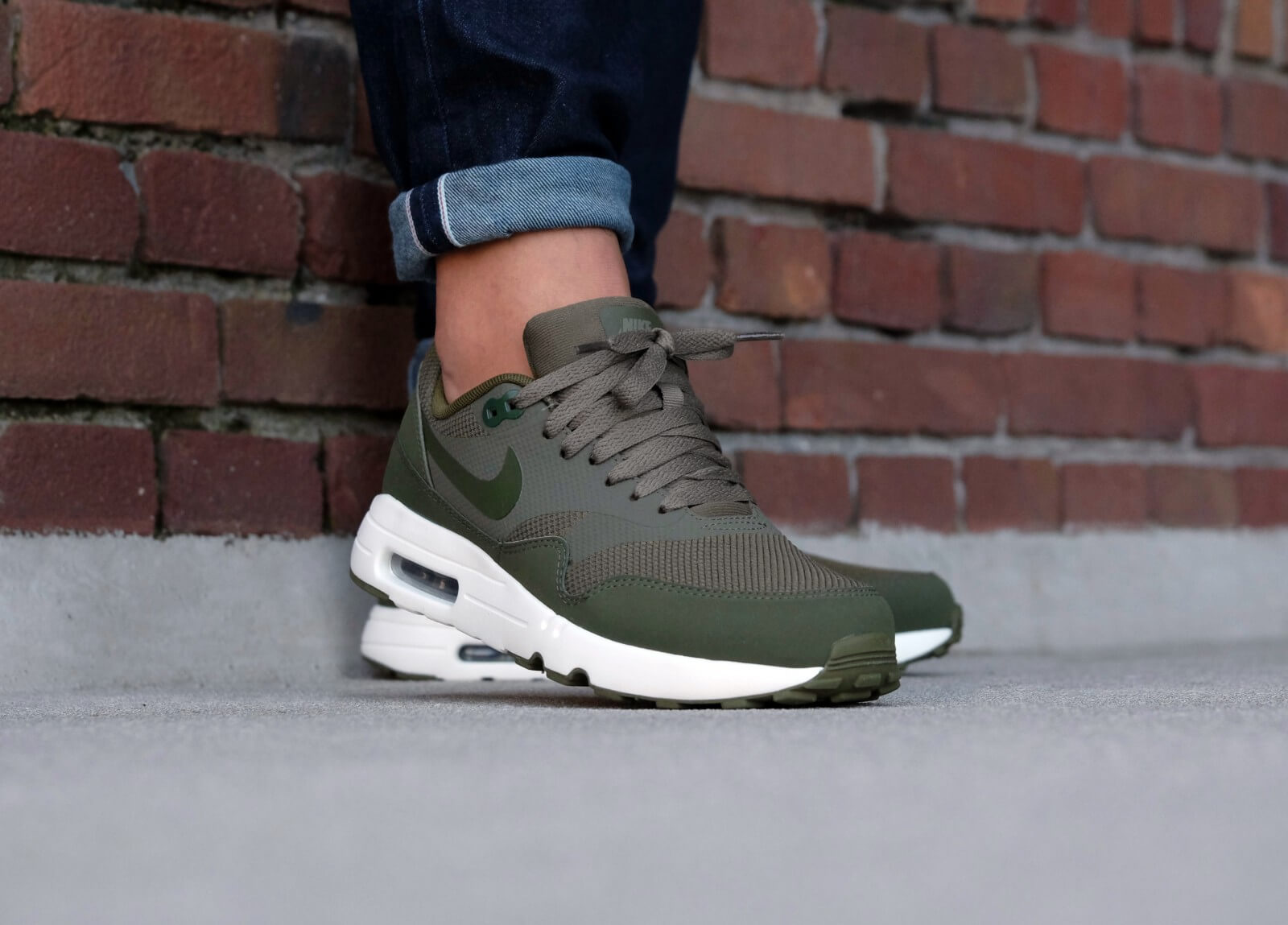 nike air max ultra groen