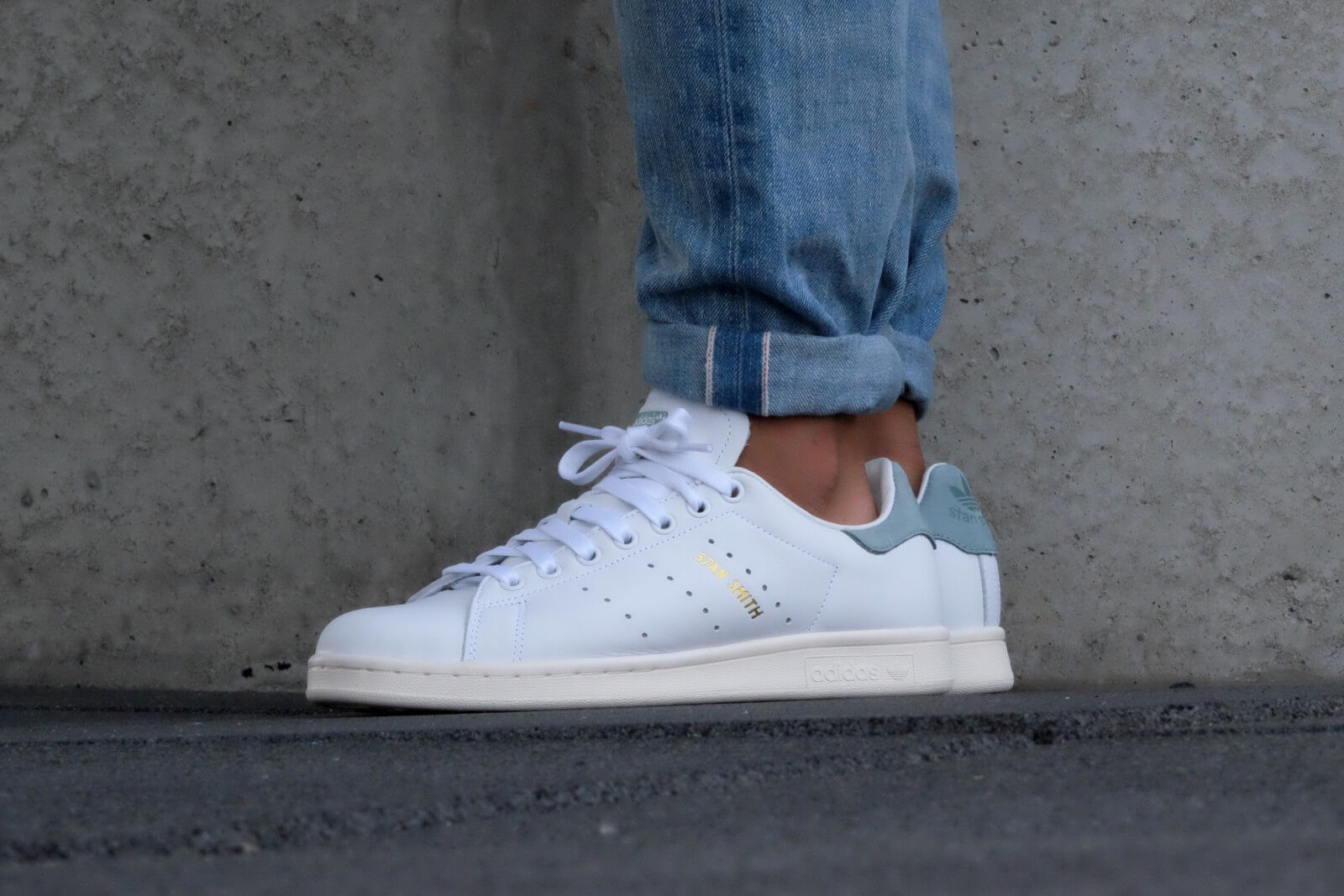 Adidas Stan Smith White Vapour Steel S