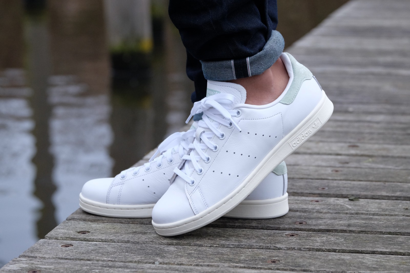 hijo erótico Competidores  Adidas WMNS Stan Smith Running White/Running White/Vapour Green - BB5047