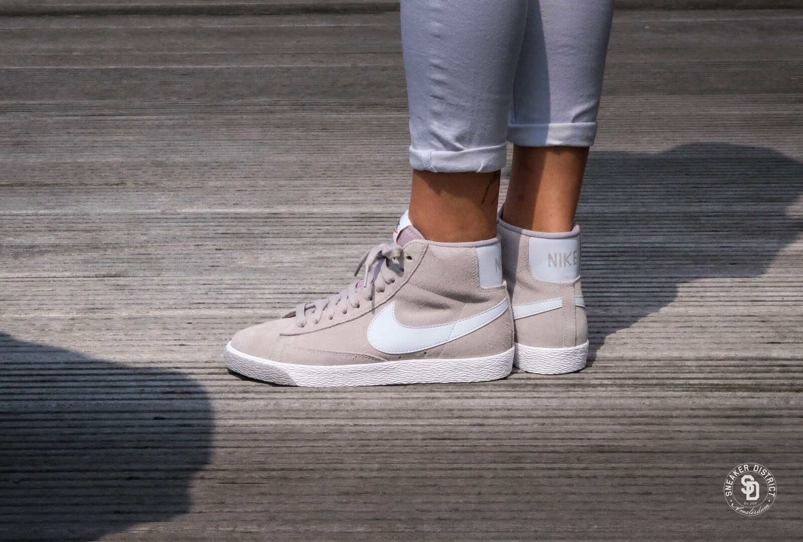 Nike Blazer Mid Semsket Skinn Vintage JMWaFxB1fo