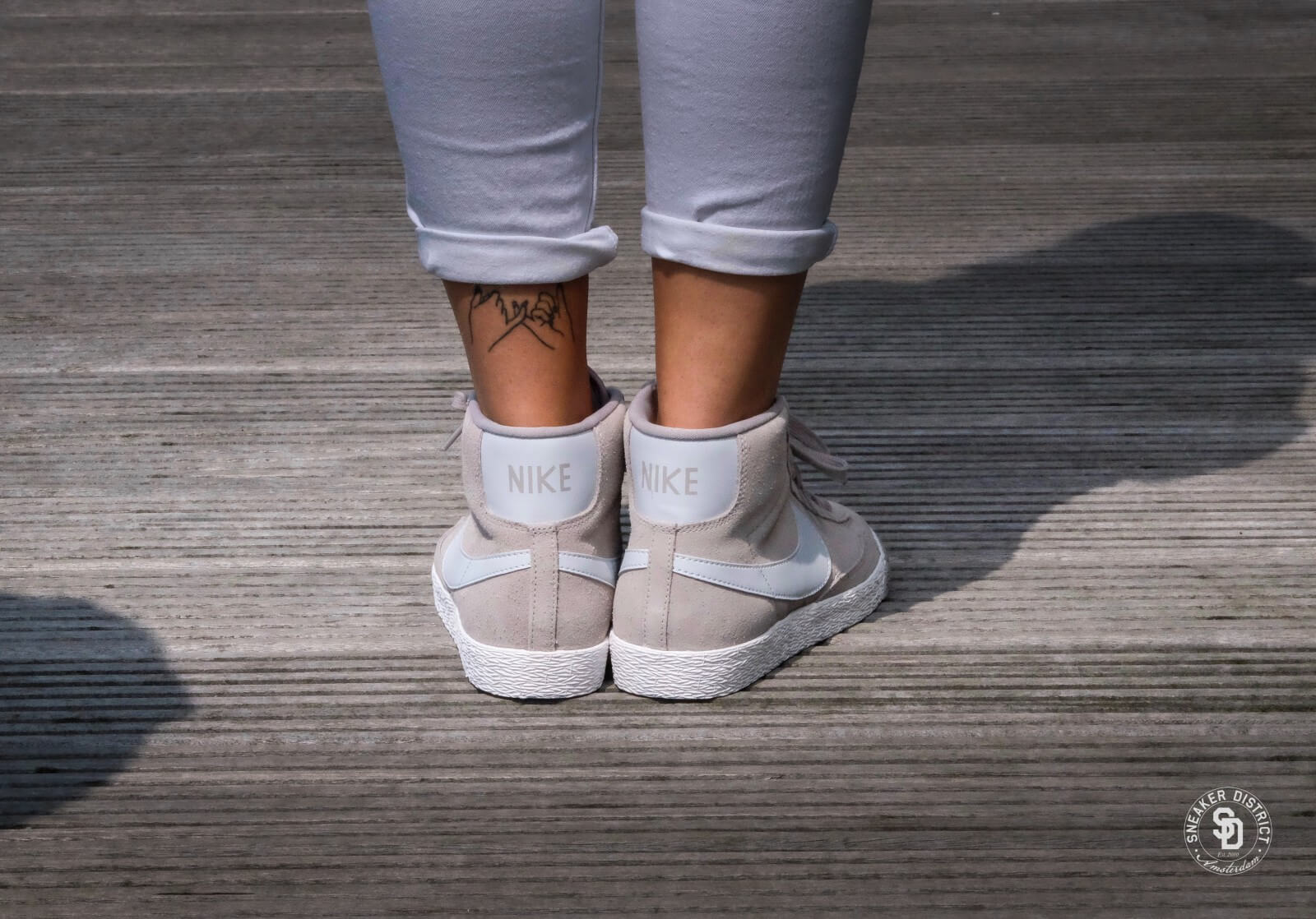 Nike Blazers De Gamuza Mediados De La Vendimia l0dvLLiL