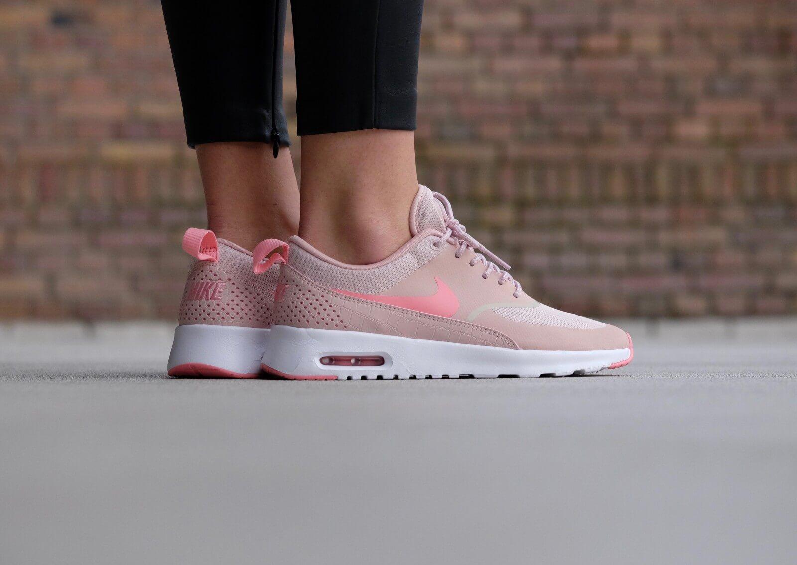 físico Librería Temporizador  Nike WMNS Air Max Thea Pink Oxford/Bright Melon-White - 599409-610