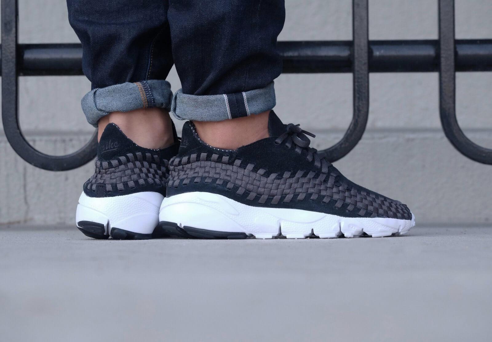 Monje polilla Mejorar  Nike Air Footscape Woven NM Black/Black-Anthracite-White - 875797-001