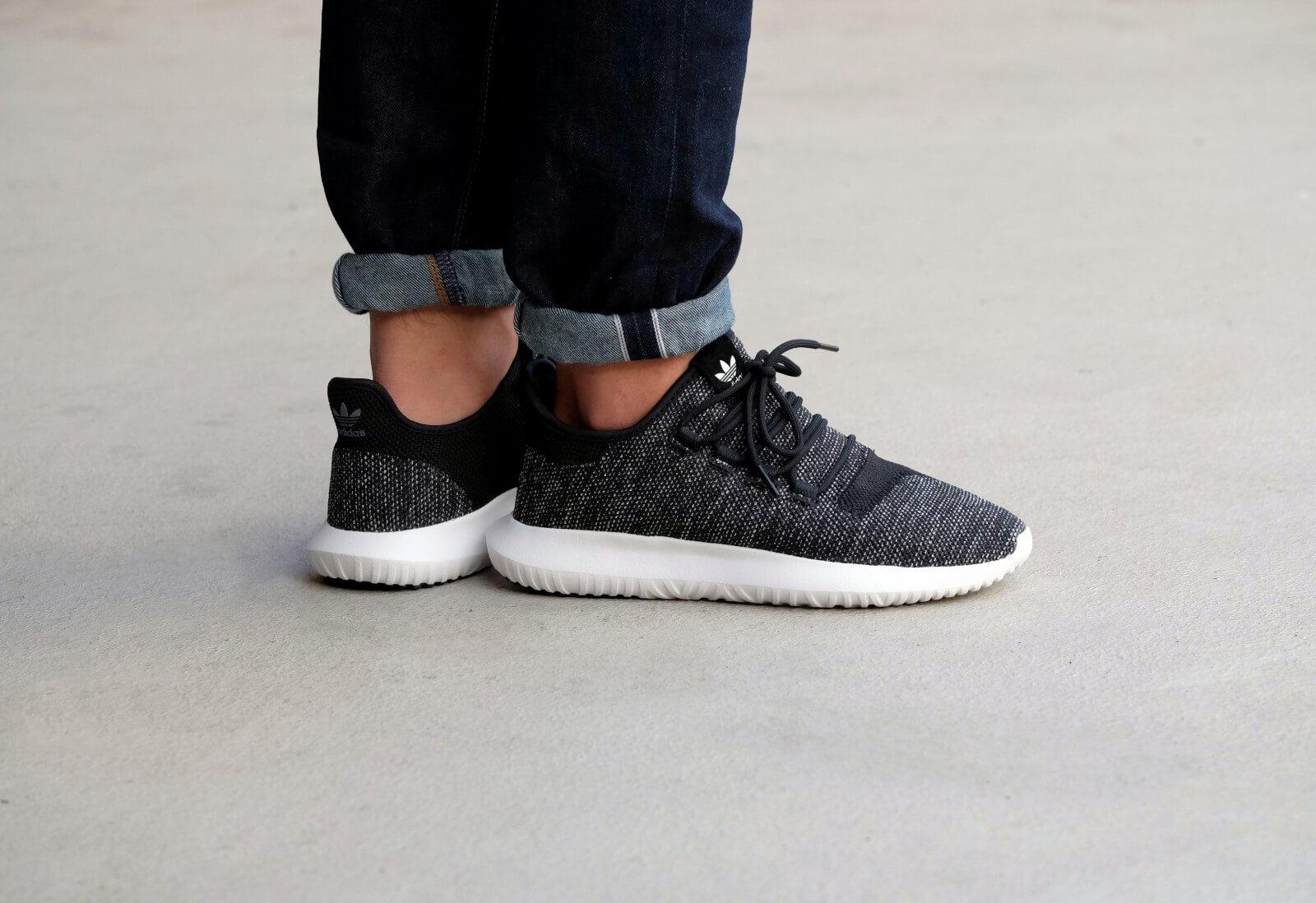 Adidas Tubular Shadow Knit - Core Black