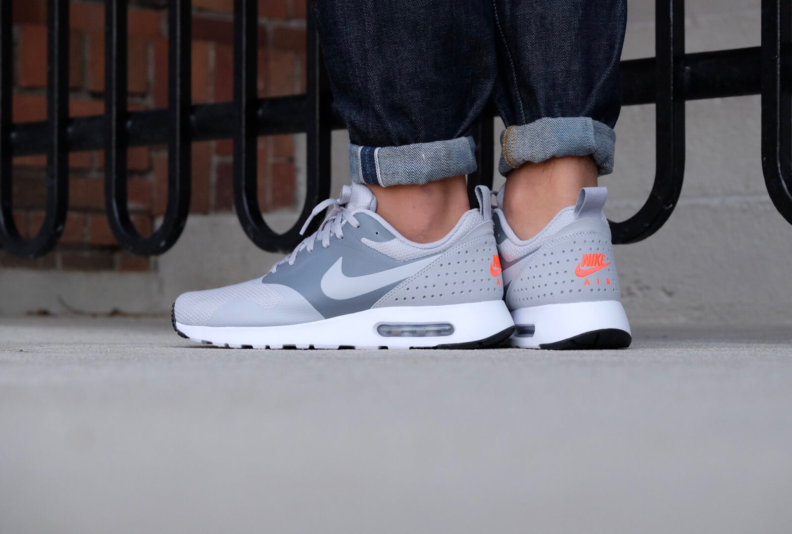 Nike Air Max Tavas shoes grey