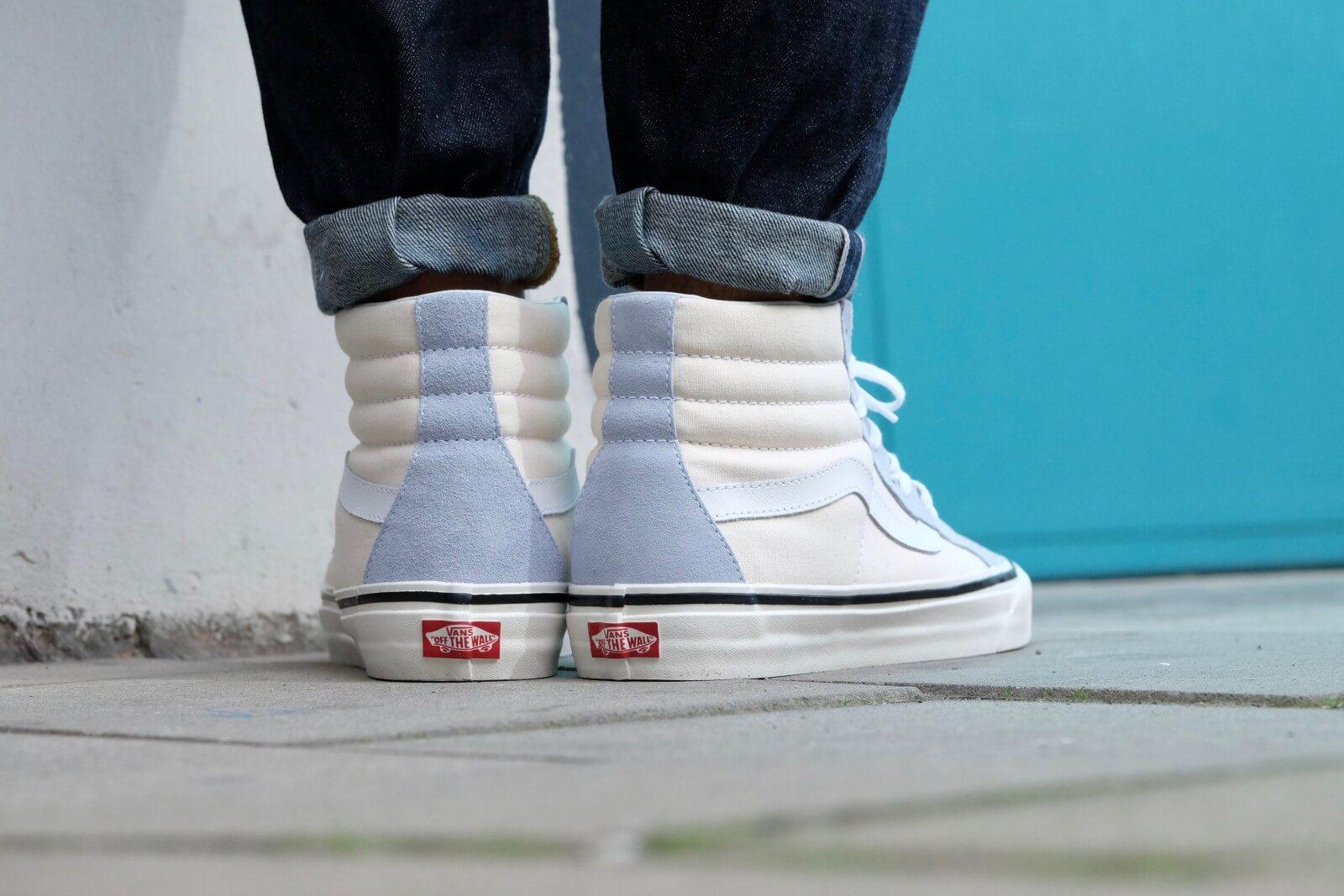 vans anaheim factory sk8-hi 38 dx shoes